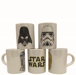 KIT XÍCARA CAFÉ STAR WARS