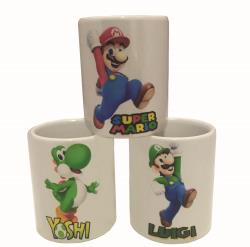 KIT XÍCARA CAFÉ SUPER MARIO