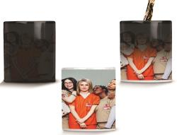 CANECA MÁGICA ORANGE IS THE NEW BLACK