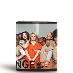 CANECA PRETA ORANGE IS THE NEW BLACK 1