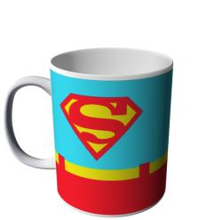 CANECA DO SUPERMAN UNIFORME