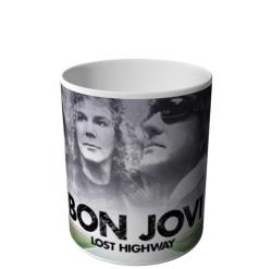 CANECA DO BON JOVI LOST HIGHWAY