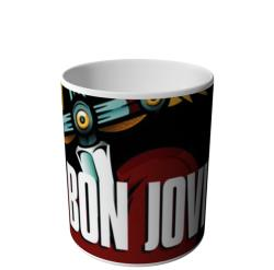 CANECA DO BON JOVI BECAUSE WE CAN