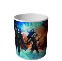 CANECA PERSONAGENS FLASH E ARROW