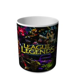 CANECA LEGUE OF LEGENDS SKINS