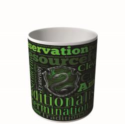 CANECA HARRY POTTER SLYTHERIN MAGIA